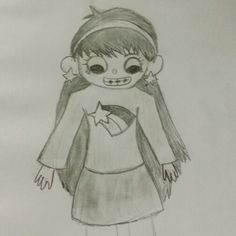 Mabel Pines in Over the Garden Wall style. By Mira.G