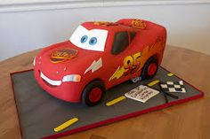 Image result for princess and cars birthday cake