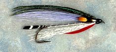 State Fly-fishing Fly: Governor Aiken Bucktail Streamer