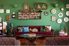casa verde escura - Pesquisa Google