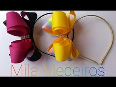 "Laço ""MAXI CELEBRIDADE""-Mila Medeiros London- DIY/Tutorial. - YouTube"