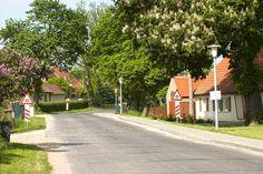 Kleinstadtromantik in der Uckermark im Norden von brandenburg >> Fliederblüte und Kastanienkerzen - Uckermark