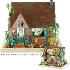 Casa de Bonecas da Pintora Frida Kahlo