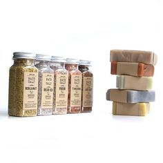 bath - detox set - detox bath salts and detox soaps