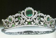 Part of the French Crown Jewels. Made for Marie-Therese, Duchesse d'Angouleme, daughter of Louis XVI and Marie Antoinette, in 1819-1820. Later worn by Empress Eugenie.