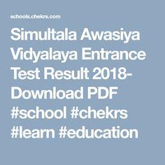 8th class question paper 2018 sample model papers download simultala awasiya vidyalaya entrance test result 2018 download pdf school chekrs learn malvernweather Choice Image