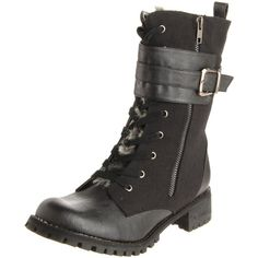 Miss Me Women's Ralph-11 Mid-Calf Boot ($60) found on Polyvore