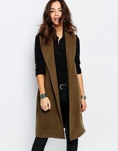 New+Look+Sleeveless+Coat
