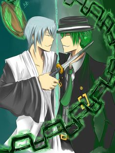Cross-Over entre BlazBlue e Bleach *Q* Ambos preferidos.