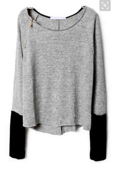 Stitch Fix: Would wear a top like this with black leggings on [dive] bar night. Would want a size large.