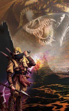 Aiel warrior by vlart.deviantart.com