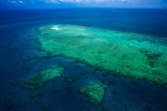 The Great Barrier Reef From Above. | The Planet D