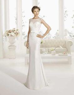 Vestidos de novias sencillos pero bonitos