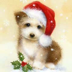 Diamond Painting Fluffy Christmas Puppy Kit Offered by Bonanza Marketplace. Diamond Painting Fluffy Christmas Puppy Kit Offered by Bonanza Marketplace. Diamond Painting Fluffy Christmas Puppy Kit Offered by Bonanza Marketplace. Christmas Puppy, Christmas Hat, Christmas Clipart, Christmas Animals, Christmas Printables, Christmas Crafts, Merry Christmas, Christmas Holidays, Vintage Greeting Cards