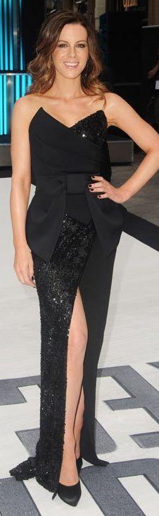 Kate Beckinsale: Dress - Donna Karan Earrings - Rona Pfeiffer Purse - Jimmy Choo cheaper style shoes Michael Antonio - Love Me Satin