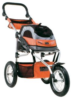 Petego Sport Trike Pet Stroller with Wagon Bag Carrier, Silver/Orange * Additional details at the pin image, click it : Cat carrier Dog Lover Gifts, Dog Gifts, Dog Lovers, Yorkshire, Cat Stroller, Cat Cages, Best Dog Training, Cat Carrier, Dog Travel