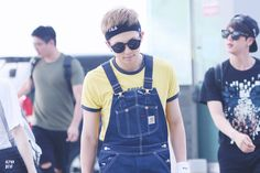 he seriously wore this to the airport