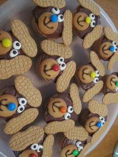 puppy cupcakes olha dinda