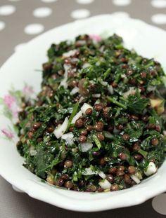 taboulé libanais lentilles - Torchons et serviettes