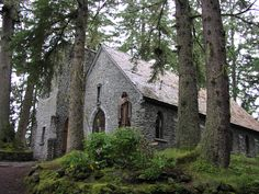 SHRINE OF SAINT THERESE, JUNEAU, AK:   http://www.shrineofsainttherese.org/