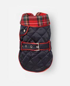 Abrigo para perro Vera rojo