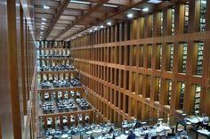 La bibliothèque de l'université Humboldt, la plus ancienne des quatre universités de Berlin. (Photo : Stephane Muller)