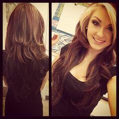 .@ashleah_fox   #bellamihair #bellahair @Audrey McGuire Hair Finally got my layers cut in to my pret...   Webstagram - the best Instagram viewer