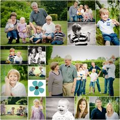 An extended family shoot in Windlesham - Vicki Knights Photography