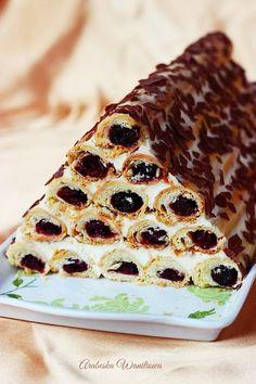 jednocześnie, o ile jest taka możliwość, albo dwa razy po Armenian Recipes, Bulgarian Recipes, Bulgarian Food, Armenian Food, Sweets Cake, Cookie Desserts, Pie Dessert, Eat Dessert First, Sweet Recipes