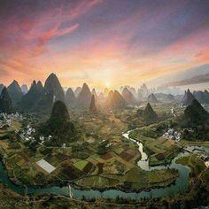 Yuangshuo, Guangxi, China. Photo by Michelle Libis