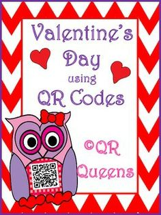 Exploring Valentine's Day with QR codes Pre K-2nd $  Find this in our Exploring February Bundle using QR Codes for 40% OFF! QR Codes are all the rage and students LOVE them! So much fun for centers, early finishers, differentiation, using technology and so much more!