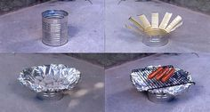 Emergency BBQ: How to Make a Tin Can Grill [VIDEO]