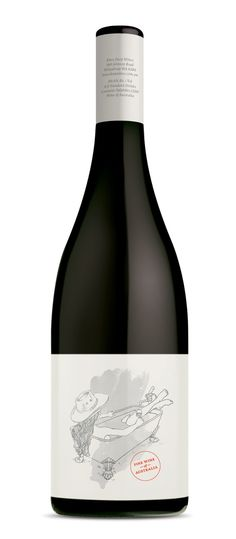 Knee Deep Wines, Margaret River. Designed by Studio Lost & Found - http://www.studiolostandfound.com/ #wine #packaging #design