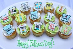 Cute cupcakes for Father's Day