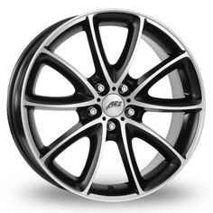 View large image of 17 Inch AEZ Excite Black Alloy Wheels