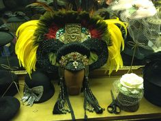 """Diamond Stash: About the Goddess headpiece i made for LouLou D'vil and about why my headpieces are """"so expensive"""""""