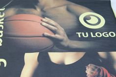Nuestro trabajo a la hora de realizar impresión digital en toallas de Microfibra Basketball, Logos, Sports, Digital Prints, Hs Sports, Logo, Sport, Netball