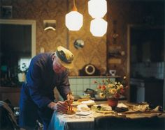 Old Dutch farmer living alone by Anke Teunissen