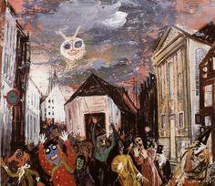 Straatcarnaval volgens Charles Eyck.