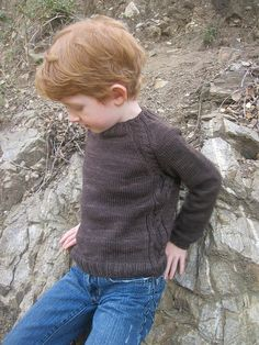 I think this might be the pattern for Liam's sweater...soledad06 by noirbettie, via Flickr