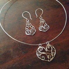 #silvernecklace #silverchoker #wirependant #heartpendant #choker #necklace #necklacechoker  #wirenecklace #wirechoker #silverjewelry #accessories #wirejewelry #customjewelry #custommadejewelry #handmadewithlove #handmadejewelry #etsyartist #etsyshopping #etsyprepromo #etsyforall #etsyundiscovered #etsymade #etsysuccess #jewelry #jewelrylove #jewelrydesigner #etsyjeweler #fashion #thenarcolepticjeweler #SandmanMetals