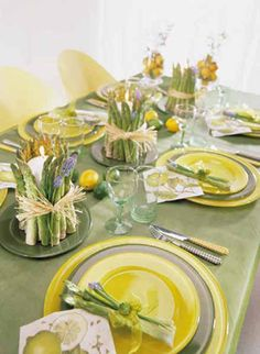 The Enchanted Home: A great giveaway from Peter Callahan...and setting a pretty table!