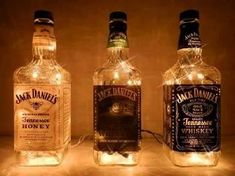 Every Household, usually after every party, every Christmas dinner, every Reunion, every gathering, and family event, ends up with with a large pile of glass and liquor bottles. What a better way to find a reuse for them than turning these items to decorate your home.Some people turn them into lamps, into chandeliers, into planters, into serving platters, salt and pepper shakers, soap dispensers and other beautiful things.The glass bottles used can be made from wine, brandy, beer, and any…