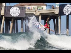 Vans US Open of Surfing 2016 - Day 5 Highlights - Men's QS Rounds 2 and ...