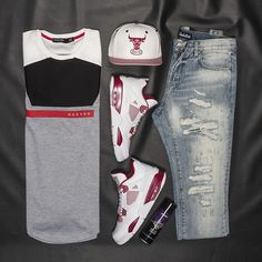 Get this look at Jimmy Jazz Shirt: #HDSN Hat: #NewEra Jeans: #EmbellishNYC Shoes: #Jordan #crepprotect #streetstyle