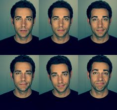 Zachary Levi. Is this guy even real? I just can't believe such perfection!