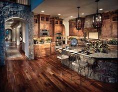 Dream Rustic Kitchens desain toko minimalis 1 lantai   beautiful design   pinterest