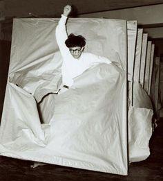Gutai artist, Saburo Murakami