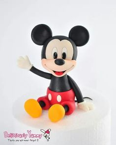 Lil mickey mouse topper