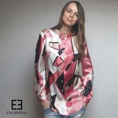 Hodvábna blúzka Flers ružová Personal Shopping, Must Haves, Ruffle Blouse, Tops, Women, Fashion, Moda, Fashion Styles, Fashion Illustrations
